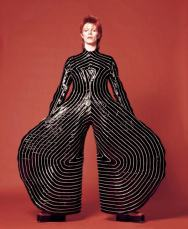 David Bowie as Ziggy Stardust of the 1970