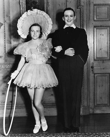 Douglas Fairbanks Jr. and Joan Crawford.