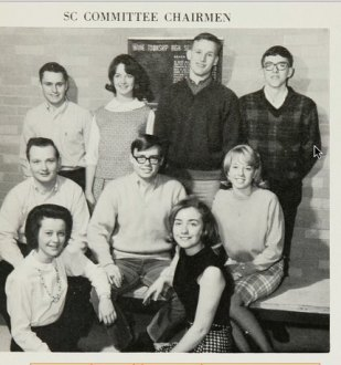Hillary Clinton in High School