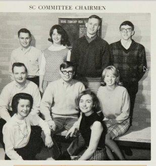 Hillary Clinton in High School