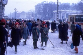 Leningrad in the 1970s This Is What Leningrad Looked Like in the Mid-1970s cccp ussr lenin (22)