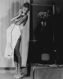 Marilyn Monroe photographed by Earl Moran, late 1940