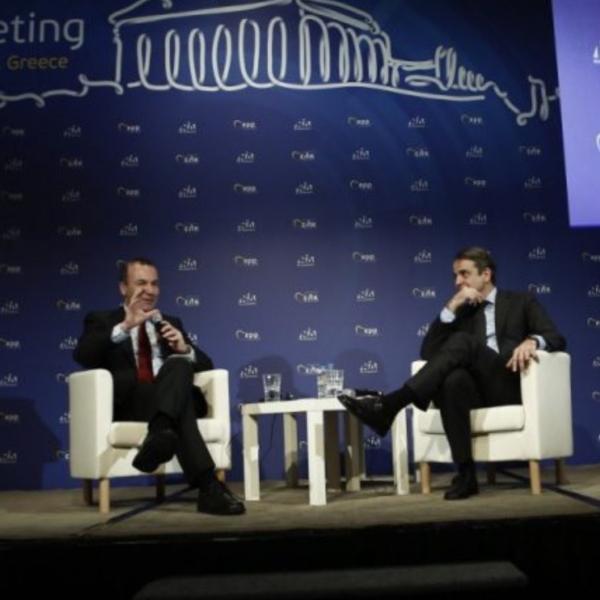 Σε συνέντευξη Τύπου που παραχώρησε, ο ανθέλληνας Βεμπερ με τον κ. Μητσοτάκη, ο υποψήφιος για τη θέση του προέδρου στην Ευρωπαϊκή Επιτροπή παρουσίασε το σχέδιό του για τη δημιουργία 5 εκατομμυρίων νέων θέσεων εργασίας, τα επόμενα 5 χρόνια στην Ευρώπη, ασκώντας έντονη κριτική στην κυβέρνηση ΣΥΡΙΖΑ και στον Αλέξη Τσίπρα τόσο για την οικονομική πολιτική που ακολουθούν όσο και για τη στάση στο θέμα της….Βενεζουέλας…. ΔΗΛΑΔΗ ΑΠΟ ΤΗΝ ΜΙΑ ΘΑ ΒΡΟΥΝ 5εκ ΘΕΣΕΙΣ ΕΡΓΑΣΙΑΣ ΟΙ ΥΠΕΡΜΑΧΟΙ ΤΩΝ ΑΠΟΛΥΣΕΩΝ ΚΑΙ ΚΑΤΗΓΟΡΟΥΝ ΤΗΝ ΕΛΛΗΝΙΚΗ ΚΥΒΕΡΝΗΣΗ ΓΙΑ ΚΑΤΙ ΠΟΥ ΣΥΜΒΑΙΝΕΙ ΣΤΗΝ ΑΛΛΑ ΑΚΡΗ ΤΟΥ ΠΛΑΝΗΤΗ. Η ΒΛΑΚΕΙΑ ΕΙΝΑΙ ΑΝΙΚΗΤΗ ΕΚΤΟΣ ΑΠΟ ΕΠΙΚΙΝΔΥΝΗ!