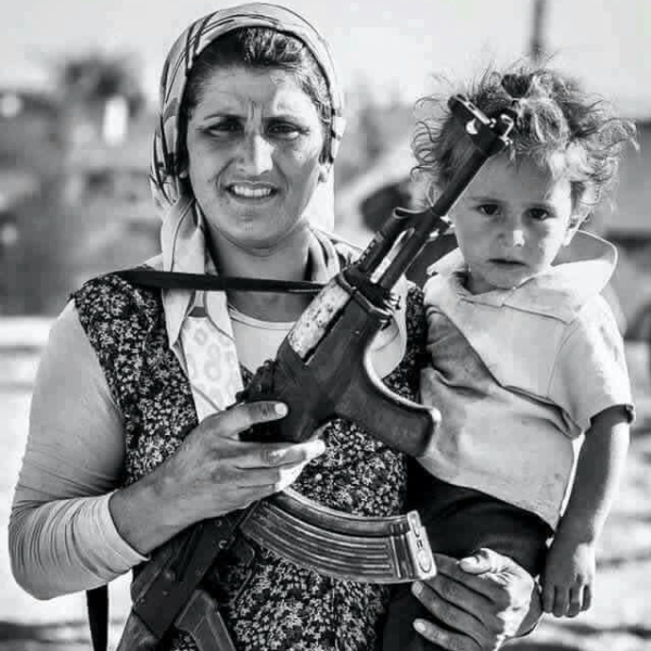YAZIDI FIGHTER MOTHER