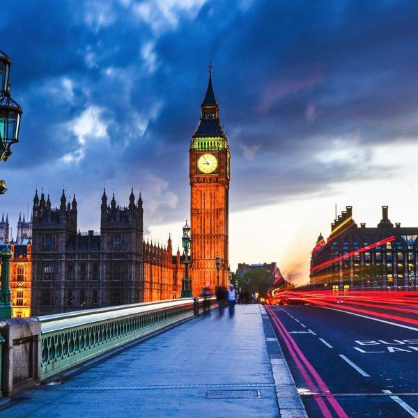 LONDON BIG BEN BRIDGE