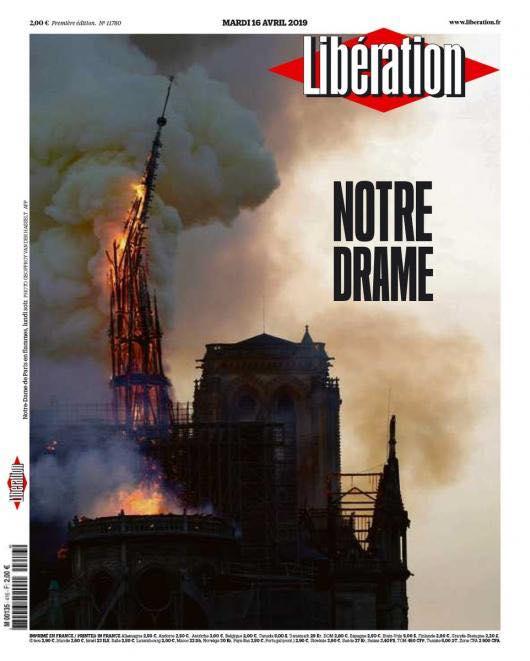 """Libération """"Notre Drame"""" #NotreDame"""
