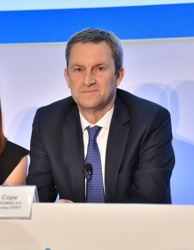 Ντάμιαν Κόουπ Πρόεδρος Ιπποδρομίες ΑΕ και Διευθύνων Σύμβουλος ΟΠΑΠ