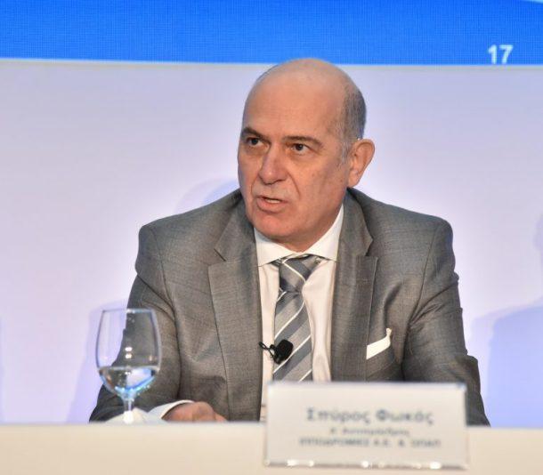 Σπύρος Φωκάς Α' Αντιπρόεδρος Ιπποδρομίες ΑΕ και ΟΠΑΠ