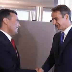 """🇬🇷🇲🇰 Οσκαρ στον Μητσοτάκη για την ερμηνία """"Μακεδονομάχος"""" - Συνάντησε και τον Ζόραν Ζαεφ ως πρόεδρο της Βόρειας Μακεδονίας 🇲🇰 https://www.youtube.com/watch?v=gyeqPtarXEY&feature=youtu.be"""