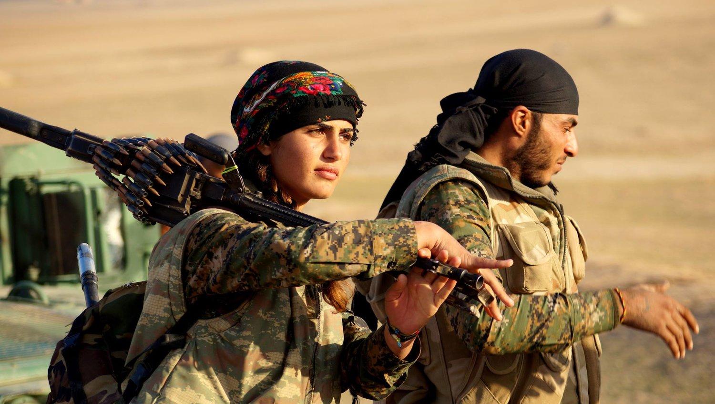 """🇬🇷 """"Οι Κούρδοι πολεμάνε για τον Ελληνισμό, πολεμώντας για τις εστίες τους"""" 🇬🇷 [ΒΙΝΤΕΟ] #YPJ #TwitterKurds, #Syria #SDF #YPG #YPJ #QSD #riseup4rojava"""