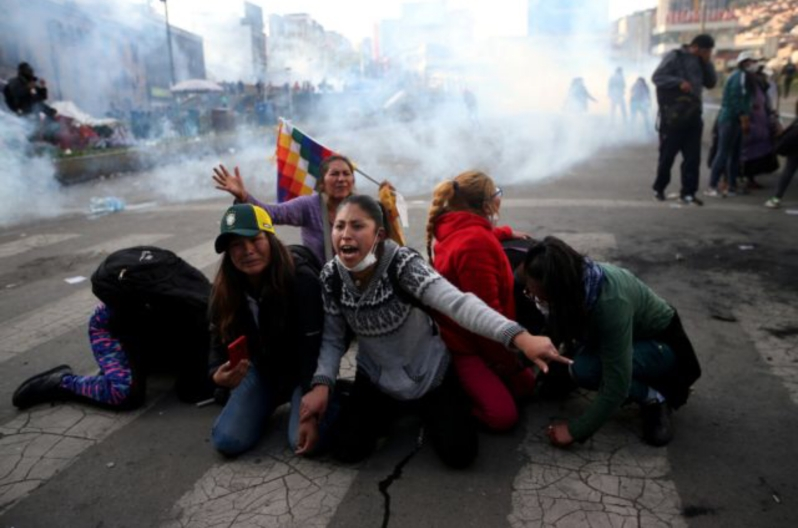 warns Bolivia violence 'could spin out of control