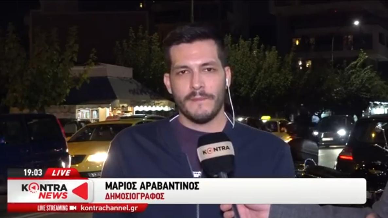 Ο δημοσιογράφος του Newsit που έπεσε θύμα άσκοπης αστυνομικής βίας την ώρα που έκανε ρεπορτάζ [ΒΙΝΤΕΟ]