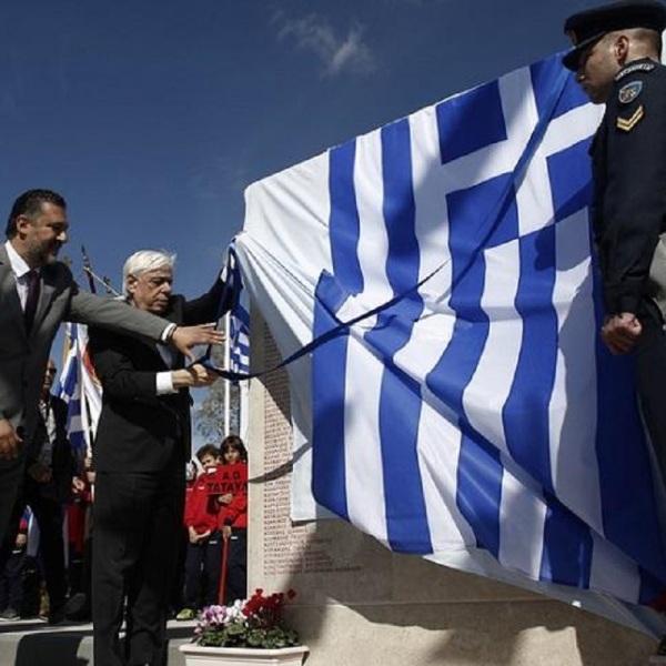 mnimeio.floisvos.konstantinoupolites ΠΡΟΚΟΠΗΣ ΠΑΥΛΟΠΟΥΛΟΣ «Οι σύμμαχοί μας στο ΝΑΤΟ και οι εταίροι μας στην Ευρωπαϊκή Ένωση έχουν χρέος, ενόψει των προκλήσεων του μέλλοντος, να θυμούνται και ν΄ αναγνωρίζουν εμπράκτως την συνεισφορά των Ελλήνων στους κοινούς αγώνες για την ελευθερία, την ειρήνη, τη δημοκρατία και τον πολιτισμό μας»