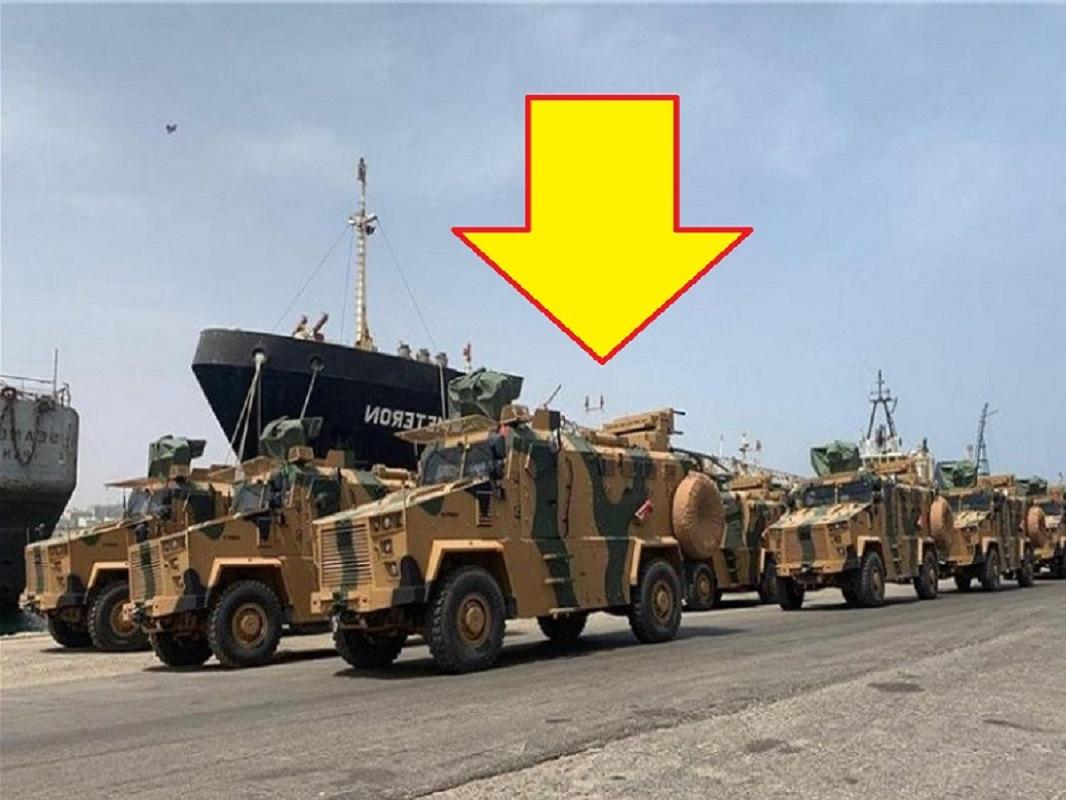 ΝΤΟΚΟΥΜΕΝΤΑ – Η Τουρκία εξαγόρασε την Λιβύη με άρματα – Βίντεο από λιμάνι της Τρίπολης [VIDEO]