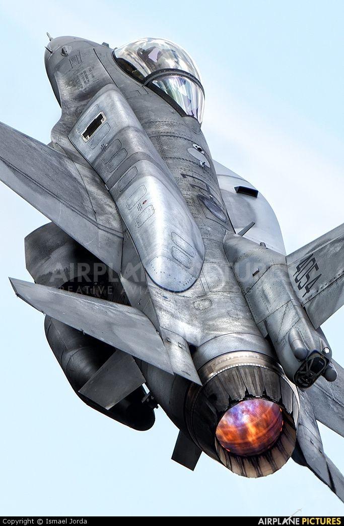 F-16C BLOCK 52+ rear view FOX 3