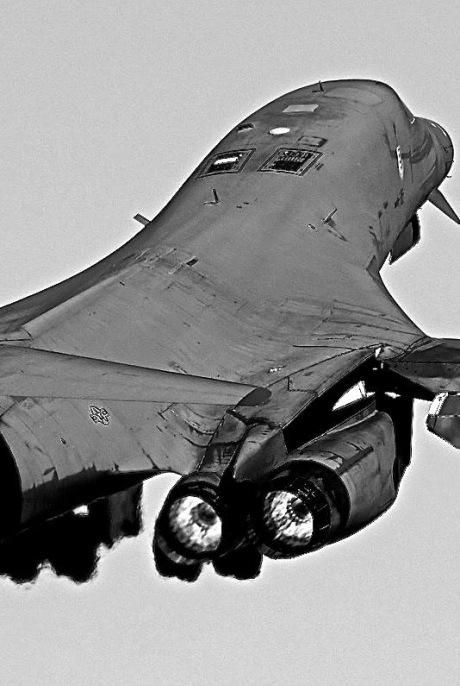 B-1B rear view FOX 3