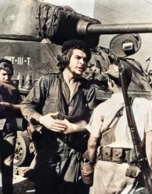 Ernesto Che Guevara directs his troops in the Battle of Santa Clara. Santa Clara, Cuba. 1959.