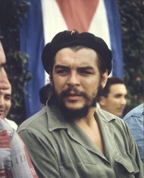 Che Guevara in Havana, circa 1960.