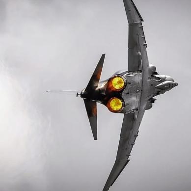 F-4E rear view FOX 3