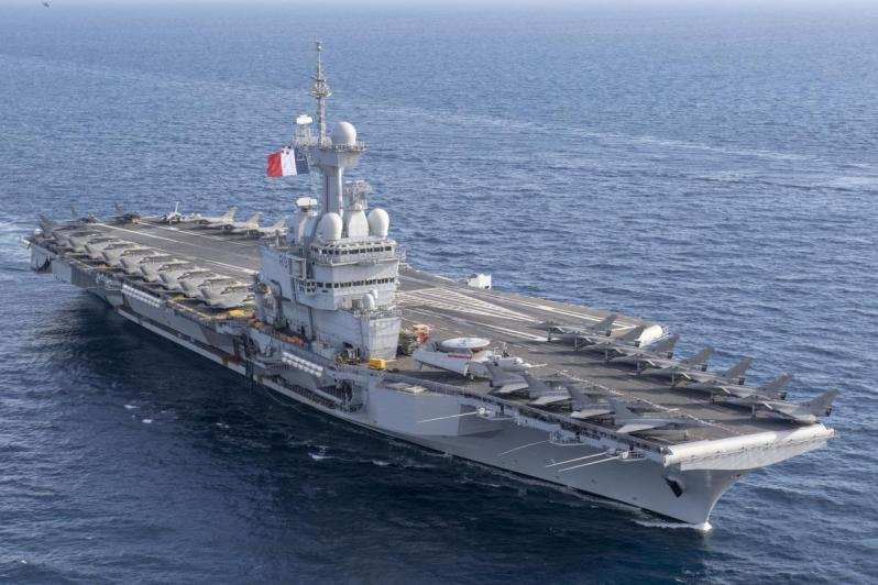 French Aircraft Carrier De Gaulle