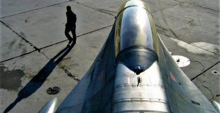 Greek F-16C block 52+ adv. rear view FOX 3