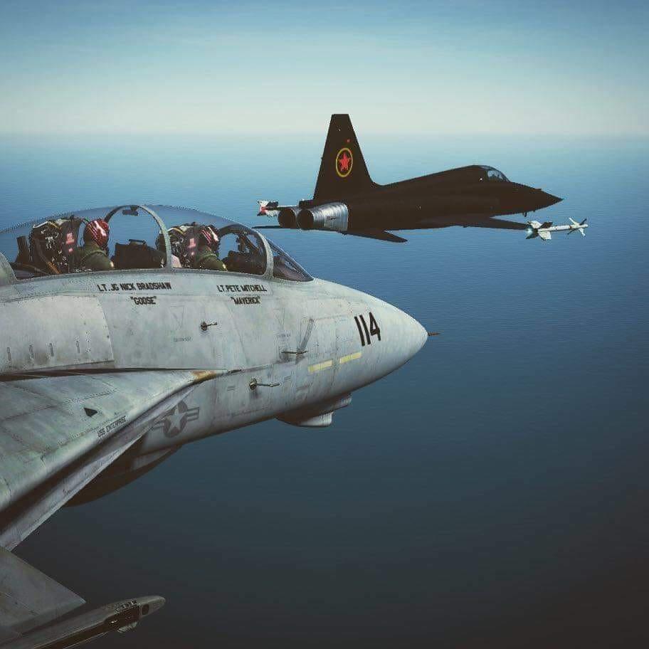 TOP GUN MAVERICK GOOSE MiG-28 F-5