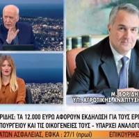 """Μάκης Βόριδης """"Δηλαδή επειδή κόπηκε το ΕΚΑΣ και οι μισθοί να μην κόψω βασιλόπιττα 12.000 ευρώ; """" [ΒΙΝΤΕΟ]"""