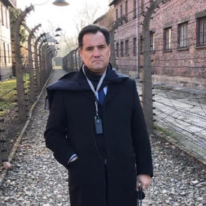 Adonis Georgiadi Visit Auschwitz-Birkenau