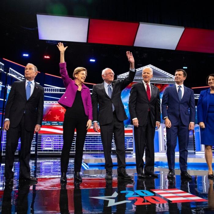 Las Vegas Democratic Debate Highlights Bloomberg Comes Under Fire In His First Presidential Debate