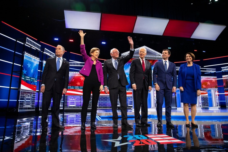 Las Vegas Democratic Debate Highlights Bloomberg Comes Under Fire In His First Presidential Debate