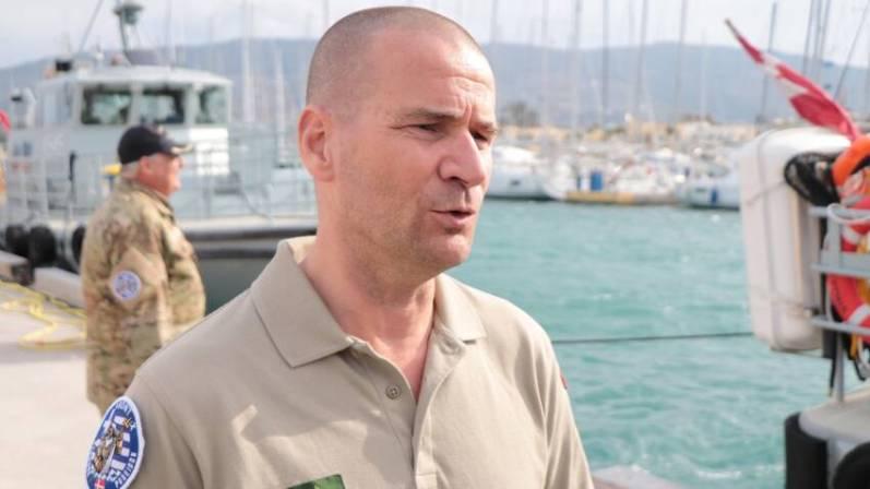 Ο αρχηγός της επιχείρησης Jens Møller