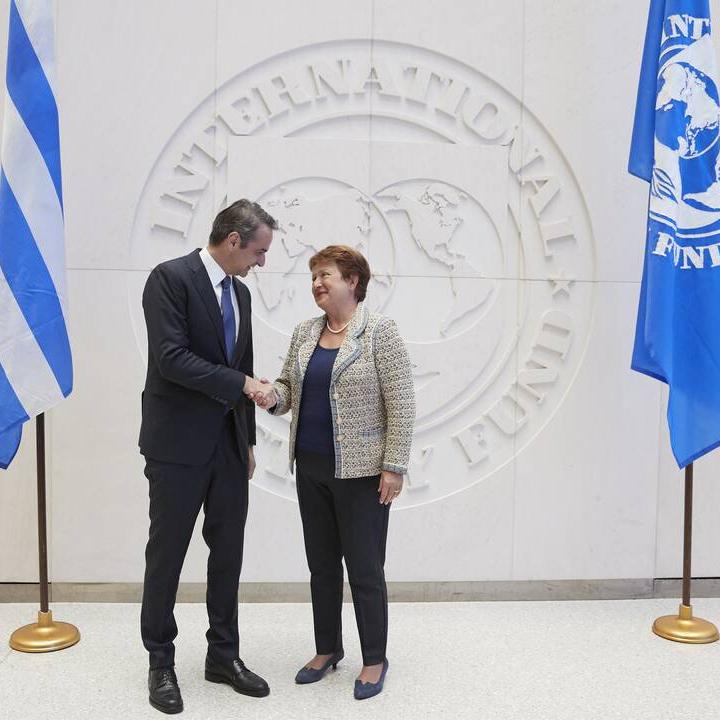 ΚΥΡΙΑΚΟΣ ΜΗΤΣΟΤΑΚΗΣ ΔΝΤ KYRIAKOS MITSOTAKIS IMF