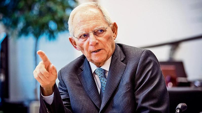 Bundestagspräsident Wolfgang Schäuble Bundestag