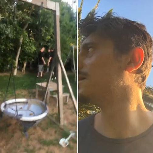 Καρέ-καρέ η επίθεση οπαδών στο σπίτι του Γιαννακόπουλου