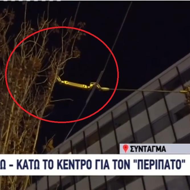 Ιάσων Σχοινάς Παπαδόπουλος Δένδρα από ζαρντινιέρες ακουμπάνε στα καλώδια του Τρόλεϊ Kontra News 10