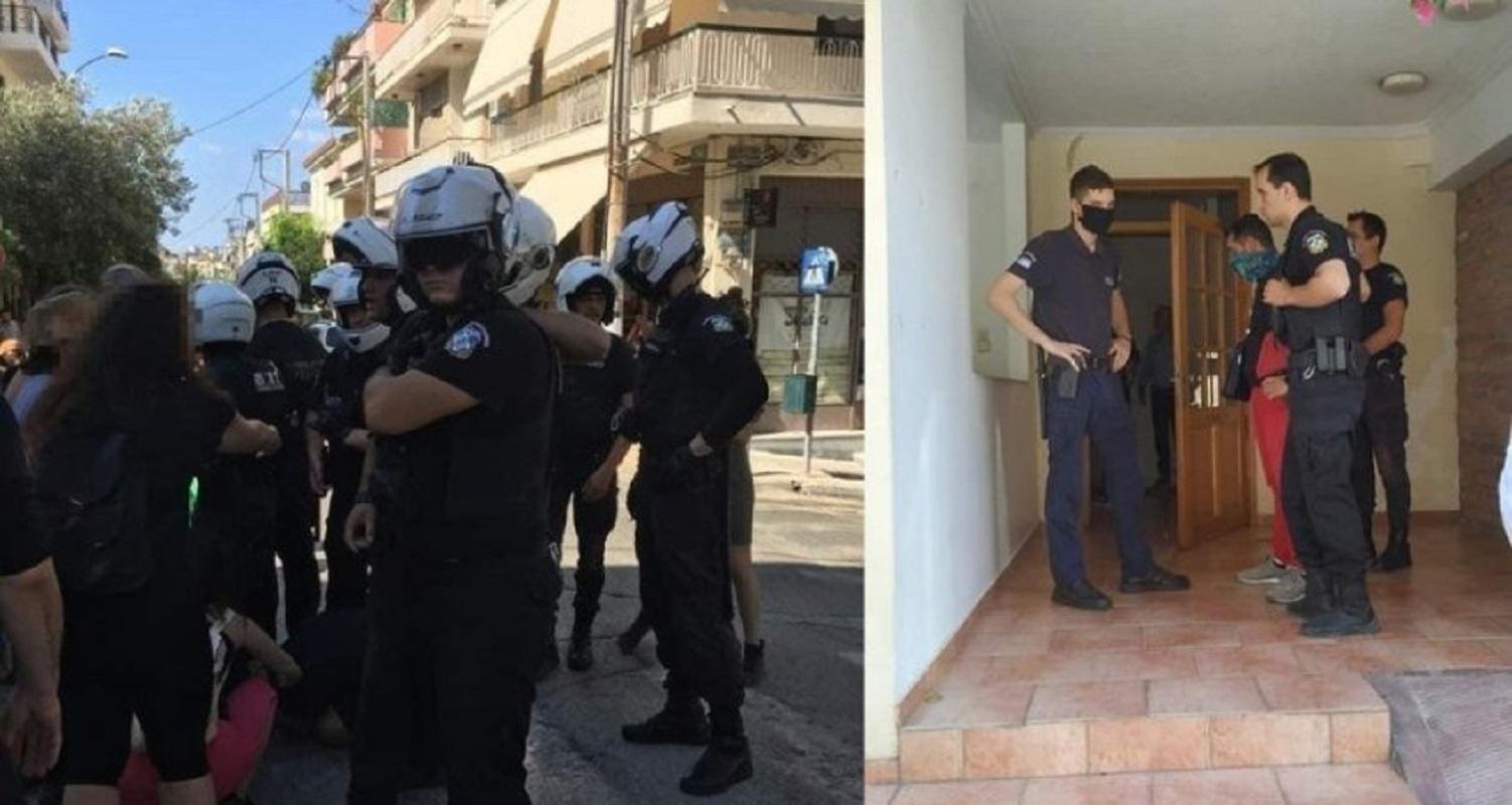 Πραίτορες Χρυσοχοΐδη έκαναν βίαιη έξωση σε δύο γεροντάκια που χρωστούσαν στην Τράπεζα #Χρυσοχουντίδης