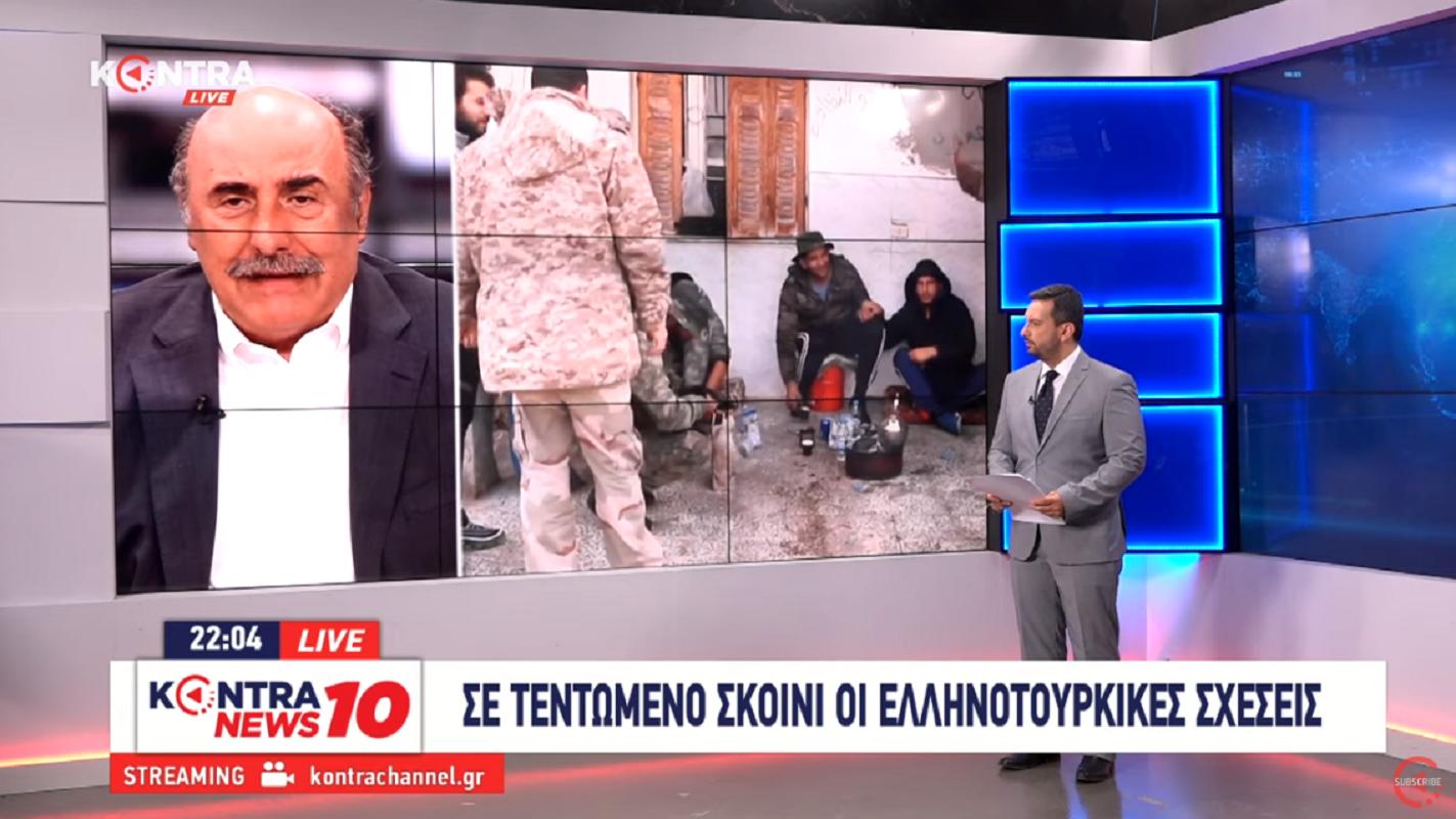 """Π. Θεοδωρακίδης πρώην εκπρόσωπος ΝΑΤΟ """"Σαφής η θέση της Γαλλίας κατά της Τουρκίας"""" [ΒΙΝΤΕΟ]"""