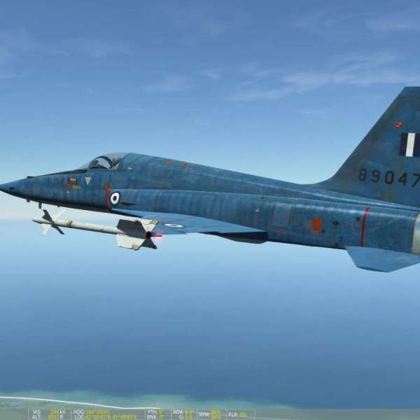 Hellenic Air Force F-5 A/B Freedom Fighter Greek