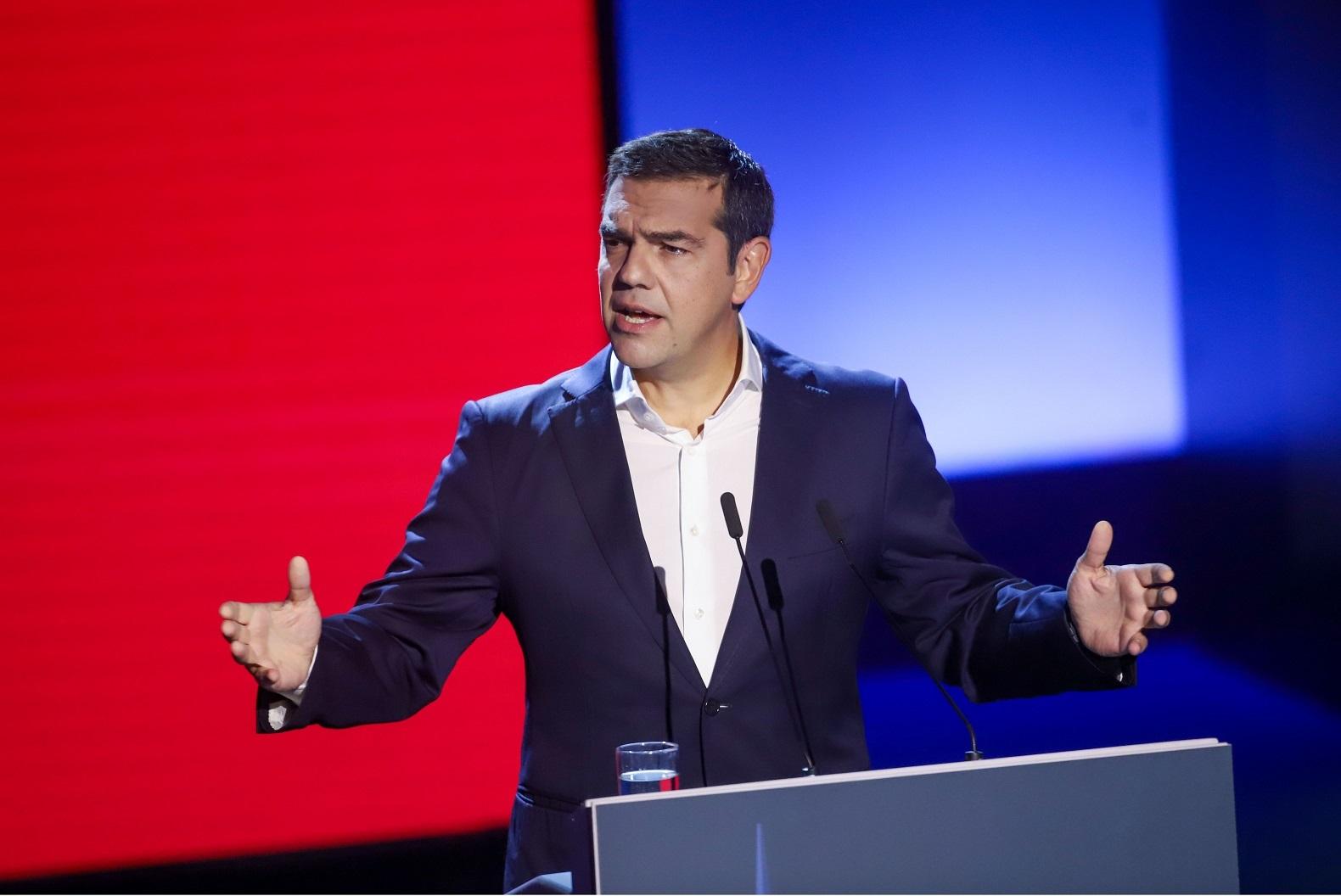 Αλέξης Τσίπρας LIVE η συνέντευξη Τύπου του προέδρου του ΣΥΡΙΖΑ στο Thessaloniki Helexpo Forum (Βίντεο)