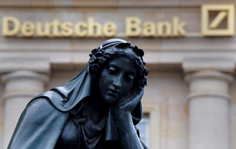 Deutche Bank currency manipulation tax evasion money laundring breaking sanctions