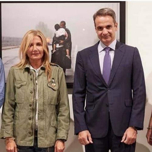Προσφυγικό: Η ντροπή είδε την Μαρέβα Γκραμπόφσκι Μητσοτάκη και… ντράπηκε