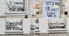 Απειλητικά γκράφιτι σε τοίχους σχολείων στη Γαλλία