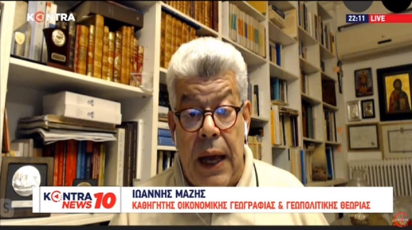 """Ιωάννης Μάζης: «Έχουμε συνεχή απεμπόλιση κυριαρχικών δικαιωμάτων που θεωρείται """"σοβαρή πολιτική""""»"""