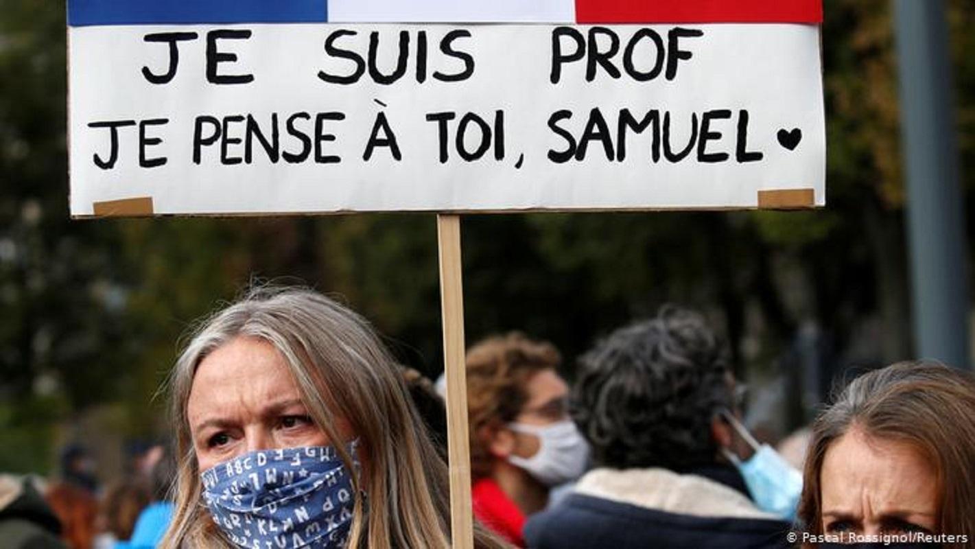 "Al Modon: ""Εν μέρει δικαιολόγησαν την δολοφονία Σαμουέλ Πατί τα ΜΜΕ στο Ισλάμ"" αναφέρει η Λιβανέζικη Εφημερίδα"