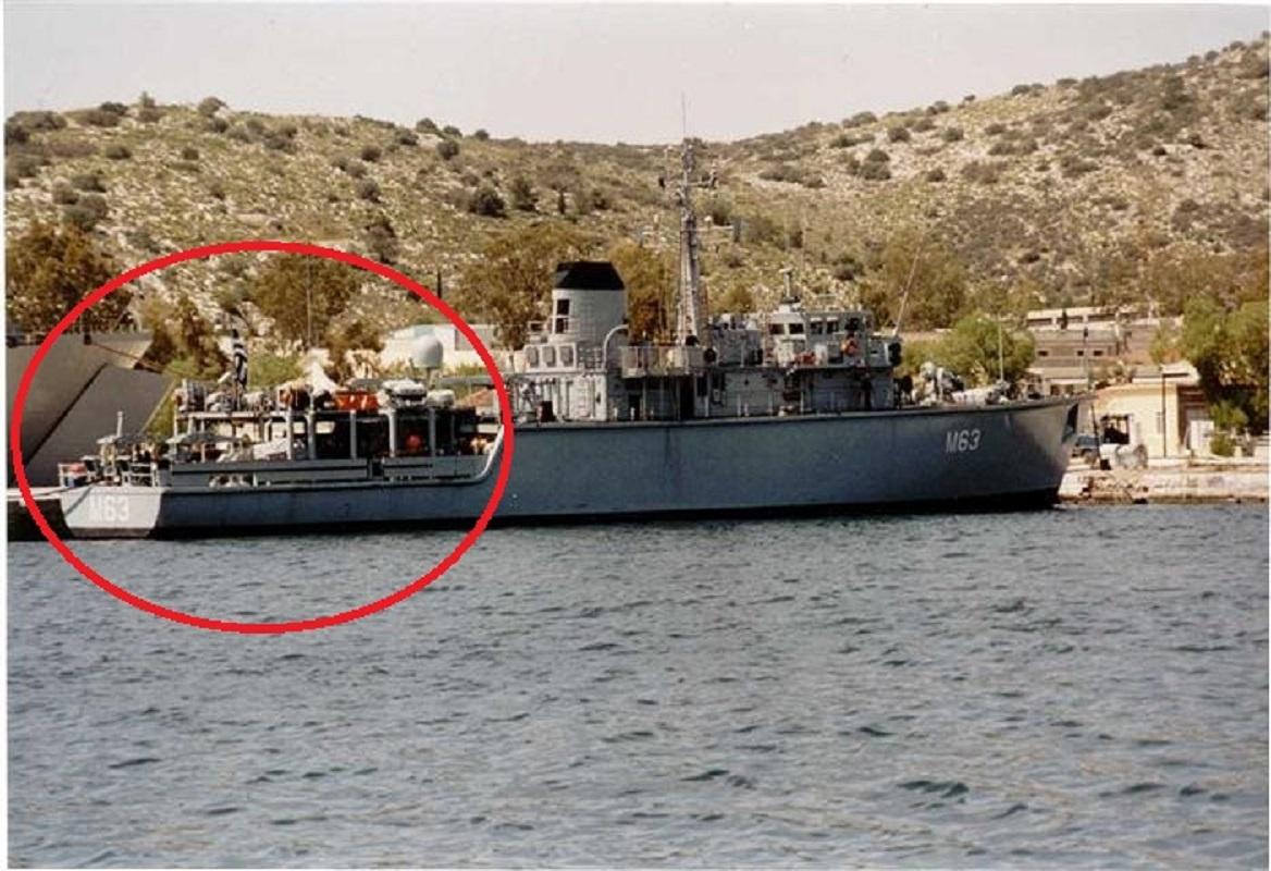 Καλλιστώ ατύχημα Πλοίο Maersk: Βυθίζεται Ναρκοθηρευτικό του Πολεμικού Ναυτικού συγκρούστηκε με πλοίο μεταφοράς