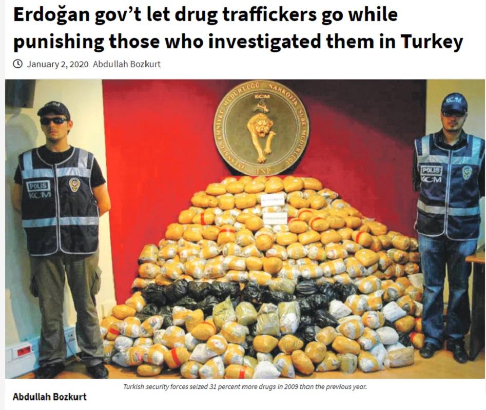 Στα χνάρια του Ερντογάν η Ελληνική δικαιοσύνη αποφυλακίζει τους ναρκέμπορους του Noor1