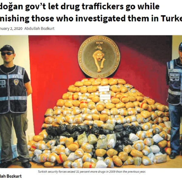 Turkish President Erdoğan bullies US to save drug traffickers