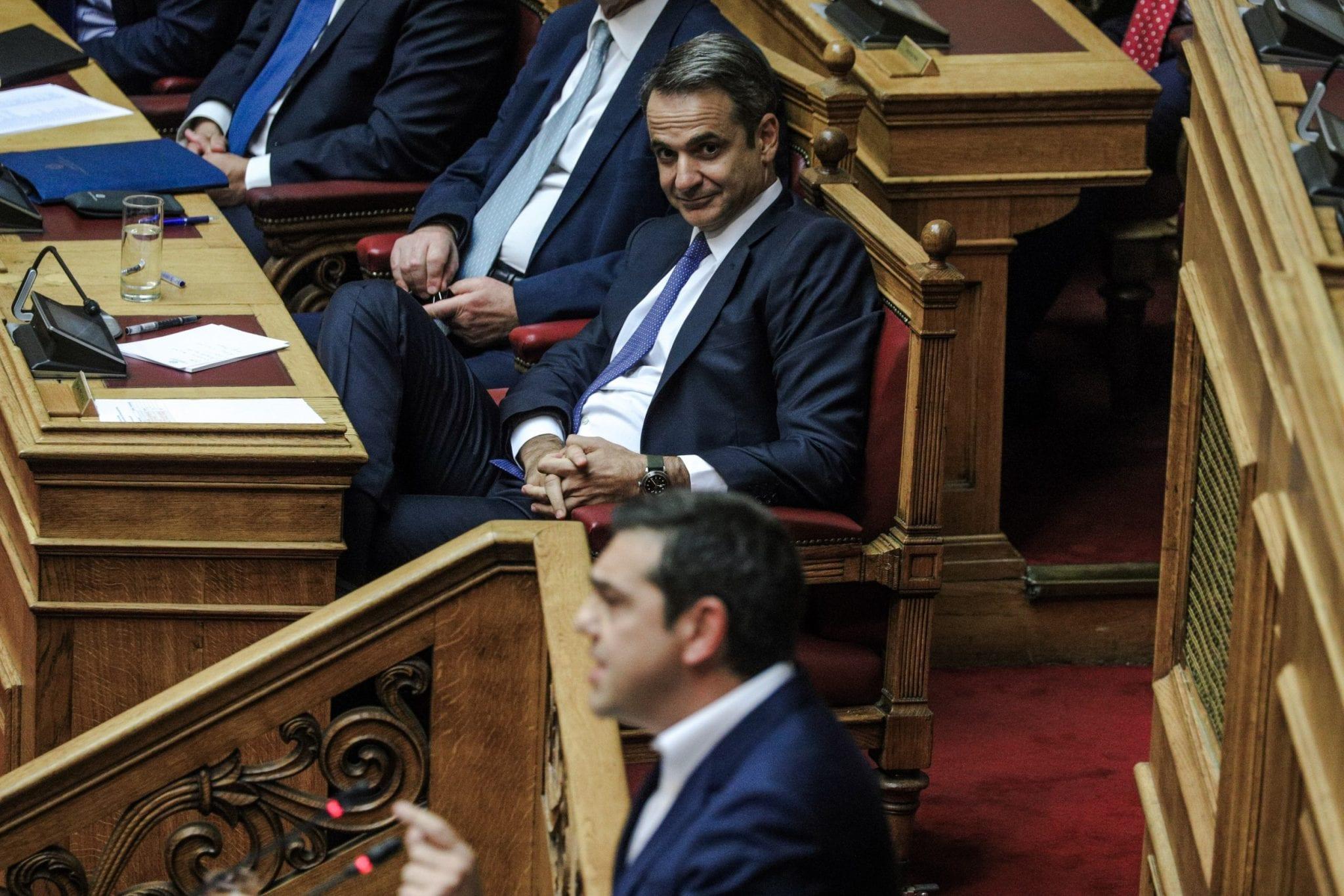Βόμβα Μητσοτακη στη Βουλή με έμμεση αναφορά στις πιέσεις για πρόωρες εκλογές: Εγώ δεν βρήκα τρεις επιστολές στο Μαξίμου