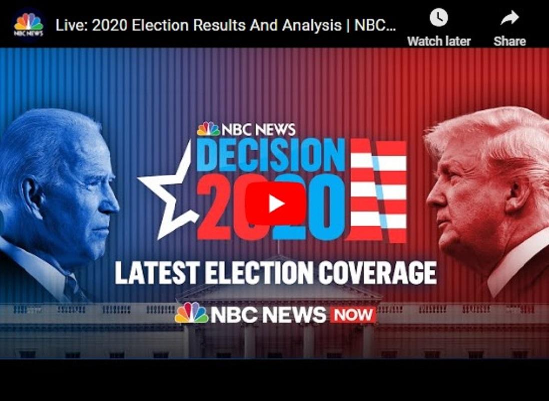 Αμερικάνικες εκλογές live NBC news και CNN