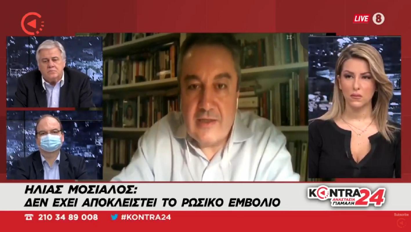 """""""Θα βγάλουμε… ουρά;"""" Ο Ηλίας Μόσιαλος συγκρίνει τα εμβόλια Moderna Pfizer Sputnik V Oxford AstraZeneca (Βίντεο)"""